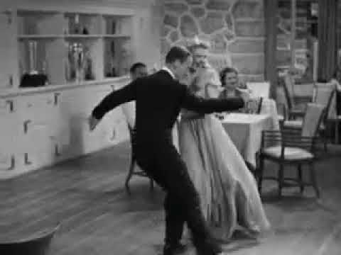 Carefree 1938 The Yam Dance Fred Astair And Ginger Rogers Youtube