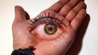 3D Eye Drawing in Hand!