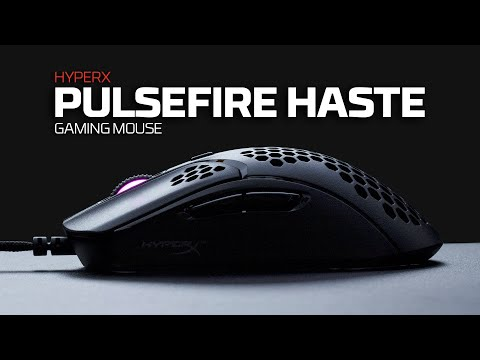Lightweight Honeycomb Shell Gaming Mouse – HyperX Pulsefire Haste