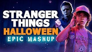 Stranger Things vs. Halloween   Epic Synth Horror Music Mash-up