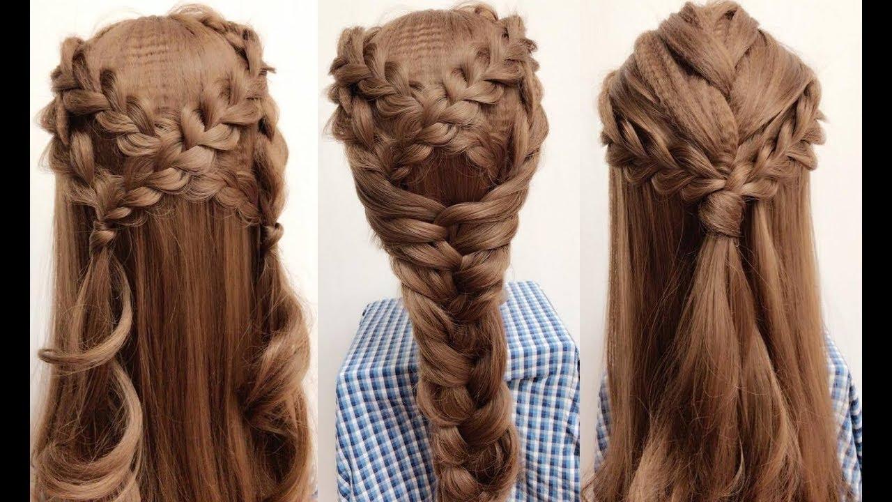 Hairstyles | Cách Làm Tóc Đẹp Kiểu Công Chúa Cực Dễ | Yêu Làm Đẹp