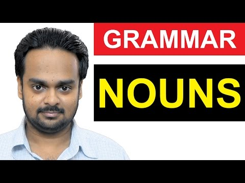 NOUNS - Basic English Grammar - What is a NOUN? - Types of N