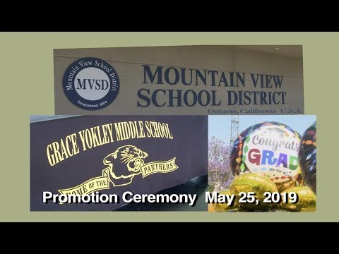 GYS Promotion May 24, 2019   Official   Grace Yokley Middle School