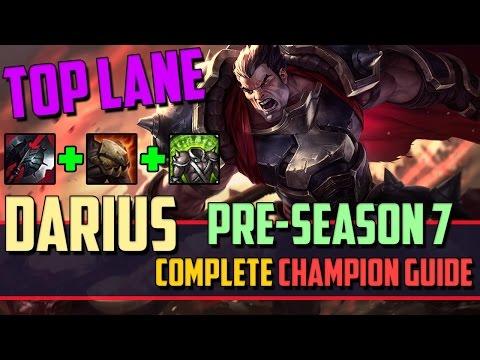 Darius: The Dunkmaster - League Of Legends Champion Guide [PRE-SEASON 7]