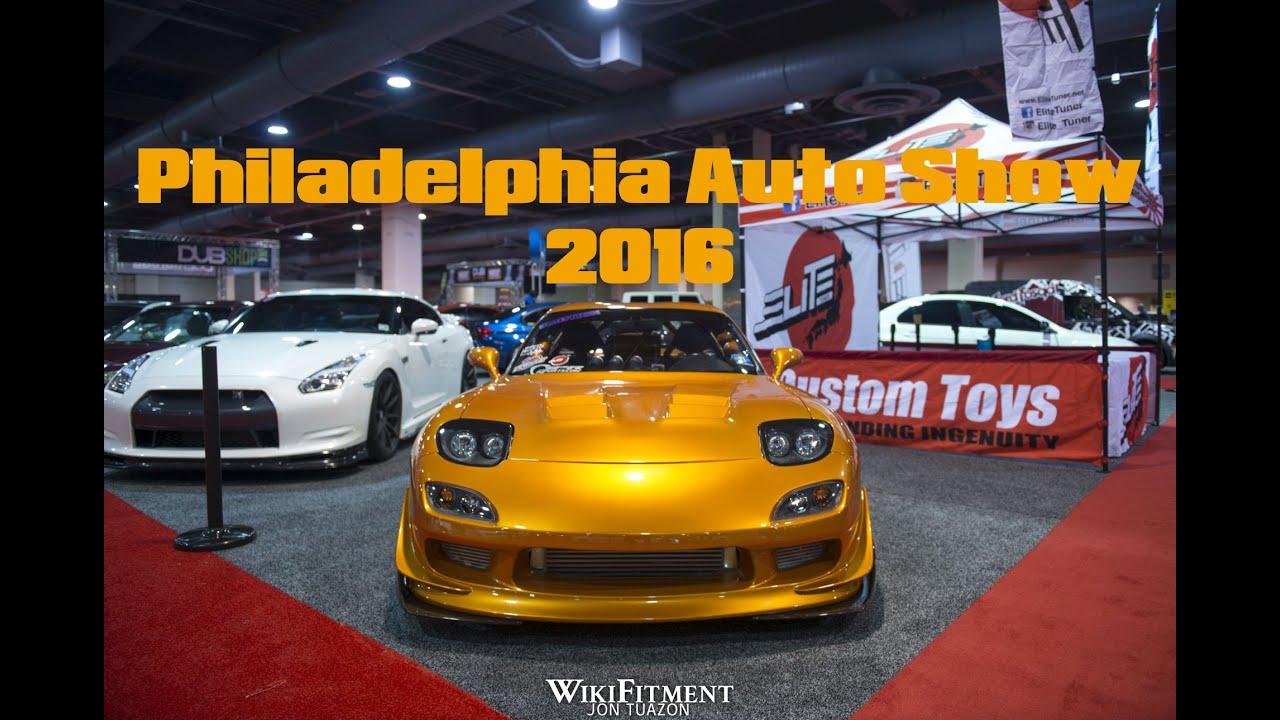 Philly Car Show: 2016 Philadelphia Auto Show // EpicJonTuazon