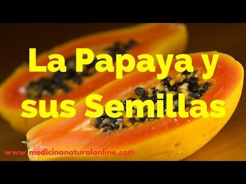 papaya para desinflamar el higado