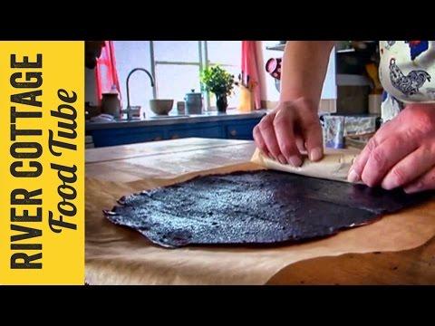 Apple & Blackberry Fruit Leather Roll   Pam The Jam Corbin