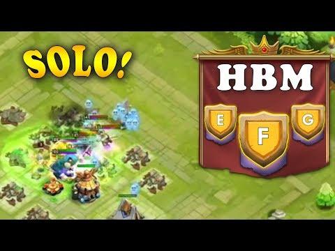 Professor Ribbit Solo HBM E,F,G Castle Clash