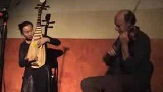Pipa and violin duet - free-style improvisation, Liu Fang and Malcolm Goldstein