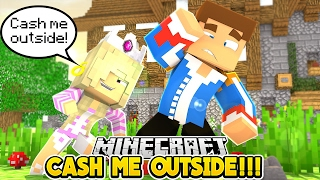 CASH ME OUTSIDE HOWBOUTDAH || FIGHT WITH LITTLE DONNY!!!- Baby Leah Minecraft Roleplay!