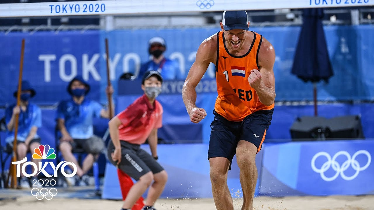 Dalhausser and Lucena drop beach volleyball opener