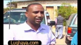 Lughaya.com Waraysi Tababare Girma uu siiyay Lughayanews.wmv