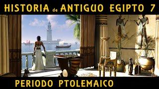 ANTIGUO EGIPTO 7: El Egipto Ptolemaico - De Ptolomeo I a Cleopatra VII (Documental Historia)