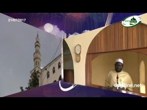 Khoutbah 21-07-2017 || Orientations sur les Elections || Imam Dr Alioune GUEYE