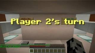Pat and Jen PopularMMOs Minecraft WOULD YOU RATHER FUNNY QUESTIONS!! Mini Game YouTube