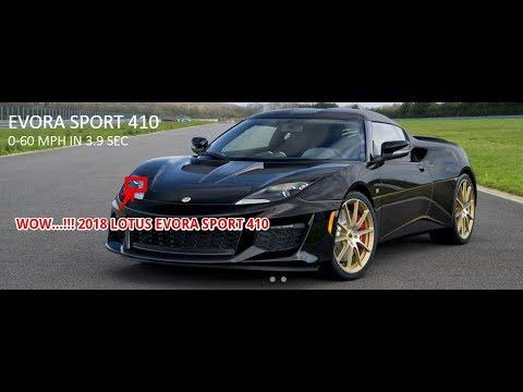2018 lotus evora 410. plain 410 2018 lotus evora sport 410 to