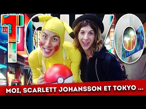 Moi, Scarlett Johansson et Tokyo