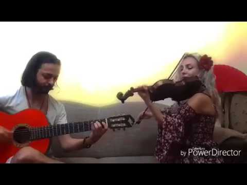 Zorro  cover (violin guitar Duo)