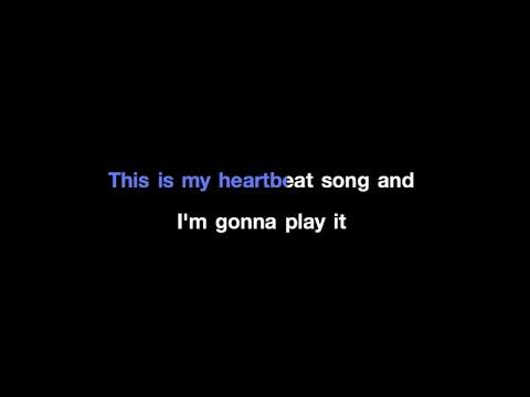 Kelly Clarkson - Heartbeat Song Karaoke