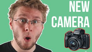 LEARNING HOW TO VLOG | Unboxing a canon m50? LUL