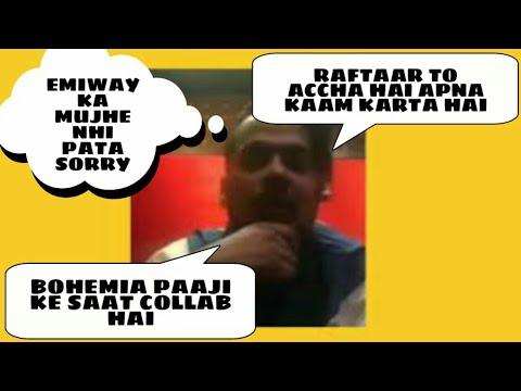 Ikka Says About Bohemia,Emiway,Raftaar and Yo Yo Honey Singh || Upcoming collab With Bohemia?