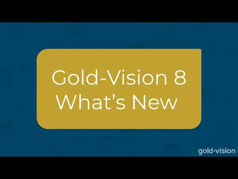What's New in Gold-Vision CRM [Version 8 Teaser]