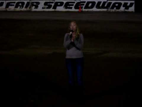 Melissa Lazzaro National Anthem - Weedsport NY