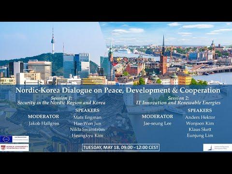 Nordic Korea Dialogue on Peace, Development & Cooperation: Session 1