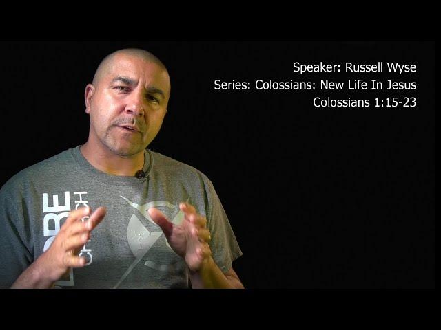 2020 June 6 Colossians 1:15-23