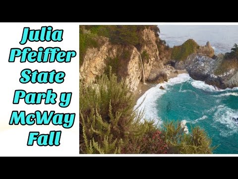 Julia Pfeiffer State Park y Mcway fall