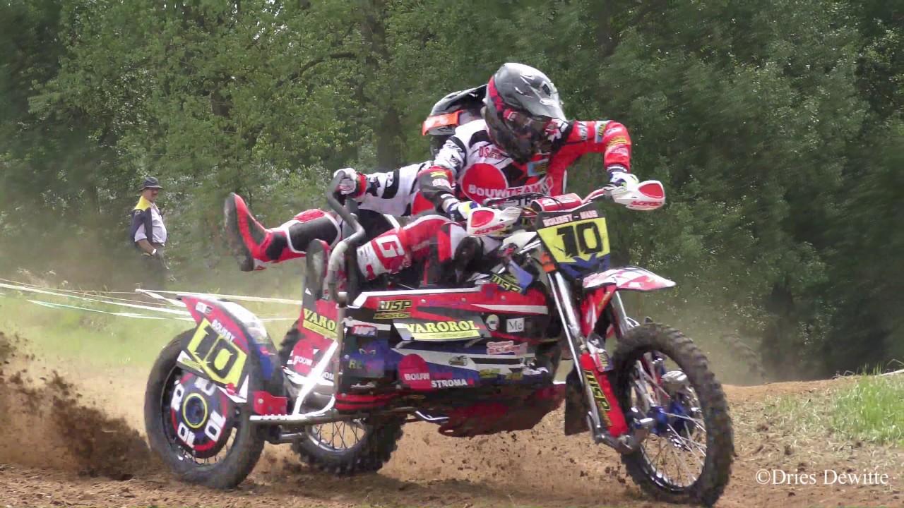 Mclb Motocross Herzele 21 Mei 2017 Zijspannen Youtube