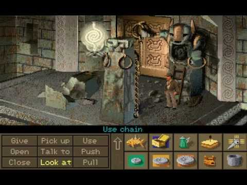 Indiana Jones and the Fate of Atlantis (PC CD, Talkie Version) | Team Path Longplay
