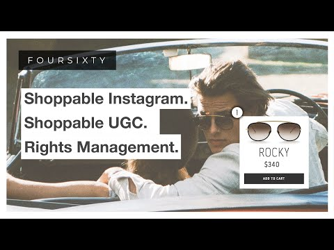 shoppable instagram & ugc.