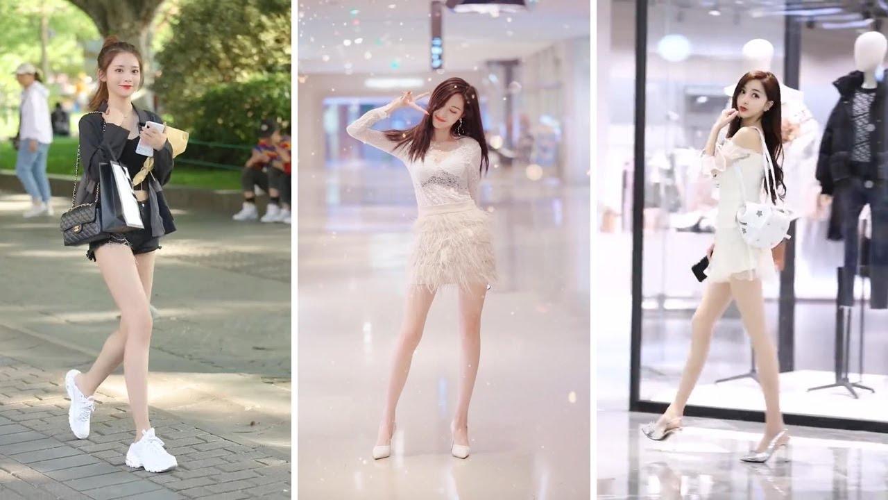 TikTok Best Mejores Street Fashion | Douyin China Chinese girls S02E01 街拍 抖音 2020