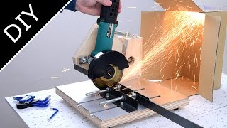 2 in 1 Homemade Angle Grinder Stand :自作ディスクグラインダースタンド