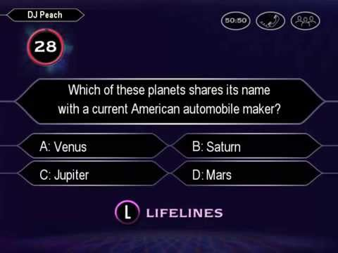 Who Wants To Be A Millionaire (Kids Edition!!!) PC Game 1