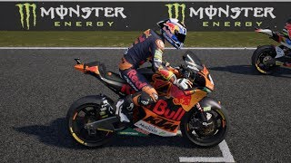 MotoGP 18 - KTM Moto 2 - Test Drive Gameplay (PC HD) [1080p60FPS]