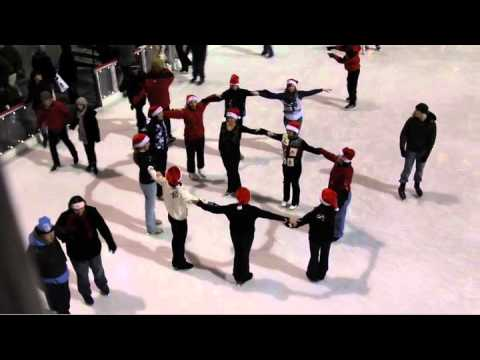 Glee Tribute By Gotham City Synchro At Rockefeller Center