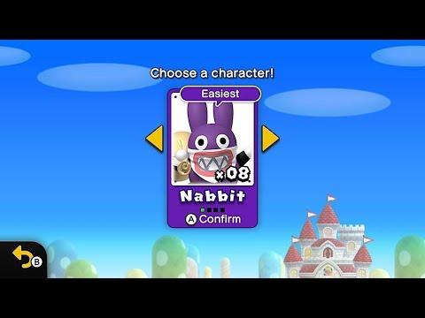 NABBIT IS THE FUNKY KONG OF MARIO | New Super Mario Bros. U Deluxe