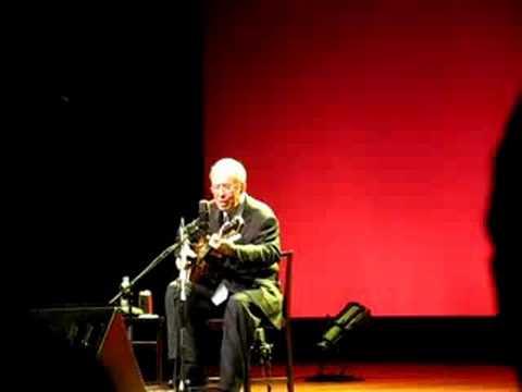 Show João Gilberto  - Samba do Avião - Auditório Ibirapuera - São Paulo