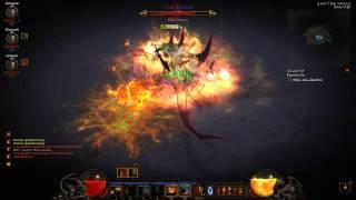 Diablo 3. Битва с Диабло на Пекло