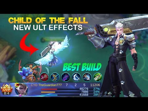 New Child of The Fall Skin ULT Effects Gameplay with Best Build  - Mobile Legends Patch 2.04