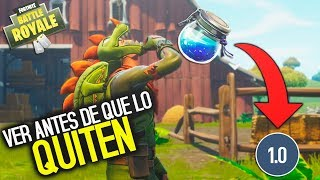TIP HOW TO DRINK A SCHOOL POTION IN 1 SECOND!!! *GLITCH* Fortnite: Battle Royale