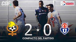 Cobresal 2 - 0 Universidad de Chile | Campeonato PlanVital 2020 - FECHA 26