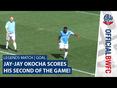 LEGENDS MATCH | GOAL | Jay-Jay Okocha scores his second of the game!