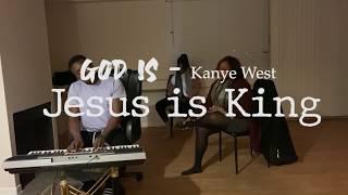 KANYE WEST - God is Cover JESUS IS KING