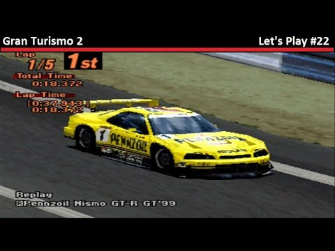 The Super Rapid 34! - Gran Turismo 2: Let's Play (Episode 22)