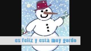 Mi Hombre de Nieve - Barbara MacArthur - Frosty the Snowman in Spanish