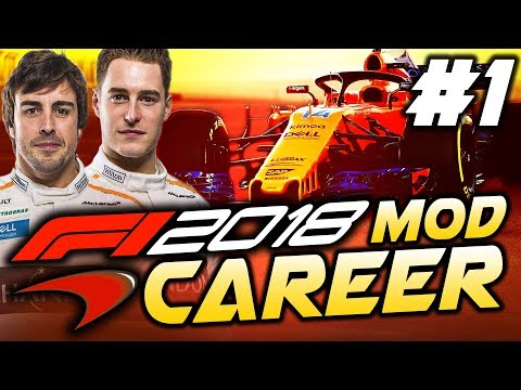 F1 2018 Season Mod CAREER Part 1: Australia | McLaren-Renault