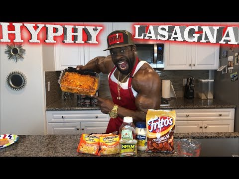 Cooking With Kali Muscle | HYPHY LASAGNA (4,000 CALORIES)
